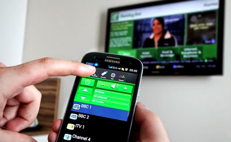 Cara Android dijadikan Remot TV or DVD