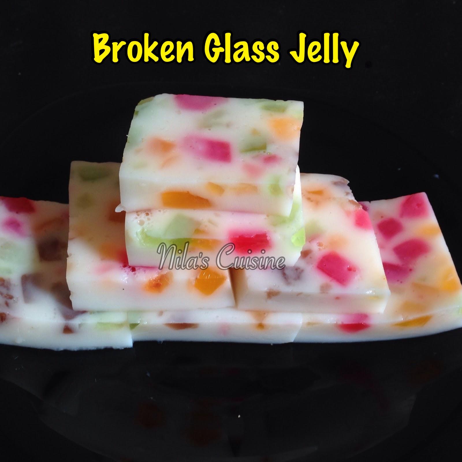 Broken Glass Jelly Agar Pudding