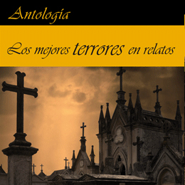 """""""Los Mejores Terrores en relatos"""" publicada por M.A.R. Editor."""