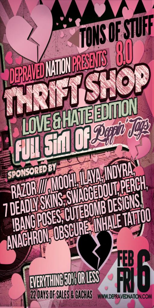 The Thrift Shop 8.0