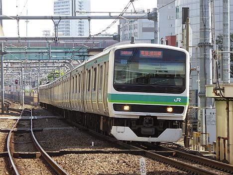 常磐・成田線 成田行き E231系