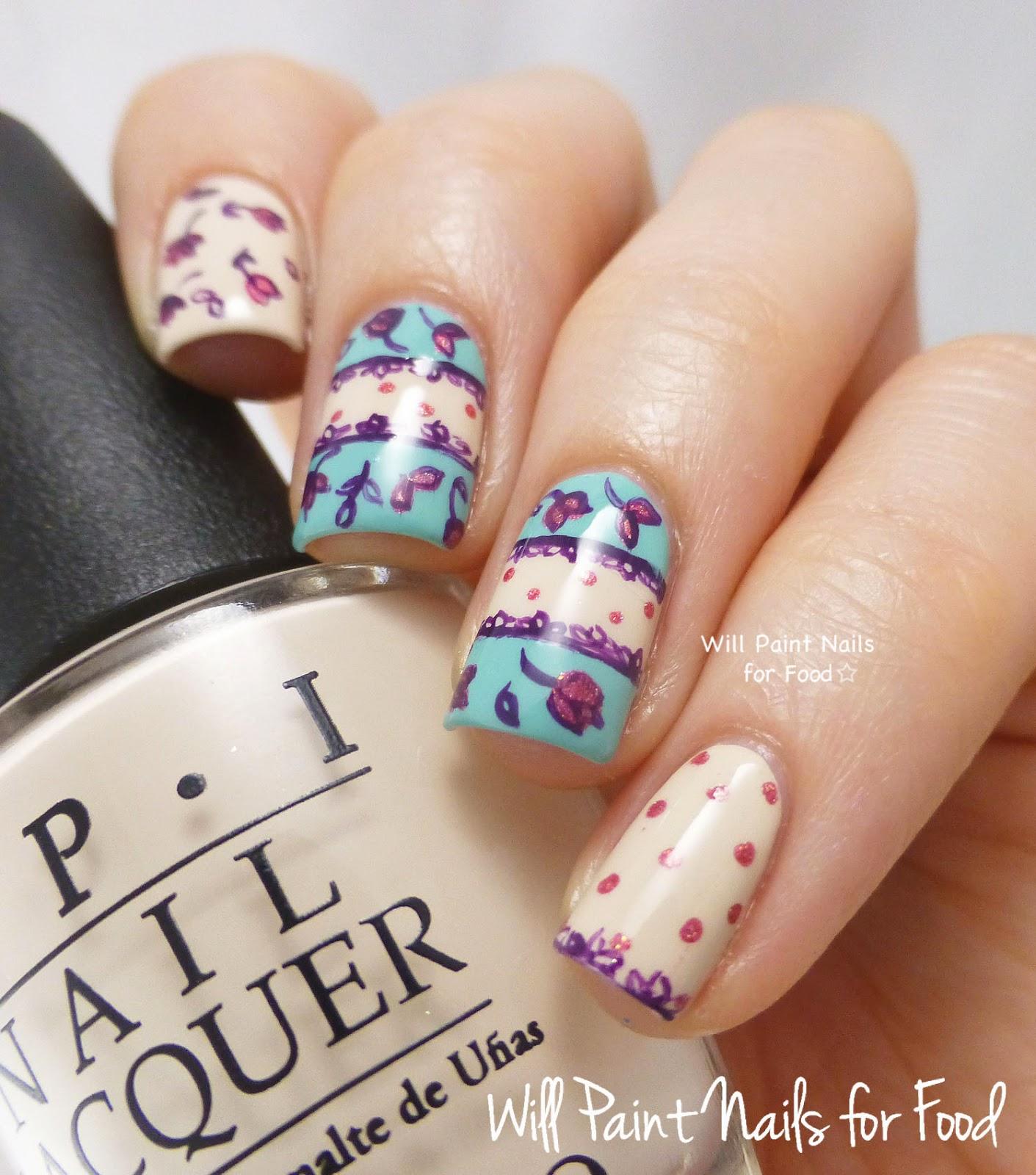Cute Vintage Nail Designs Gorgeous Vintage Inspired Nail Art Ideas