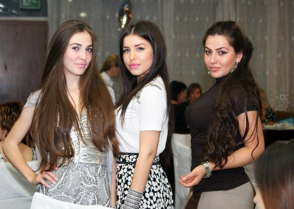 beautiful chechen women , Chechen beauties
