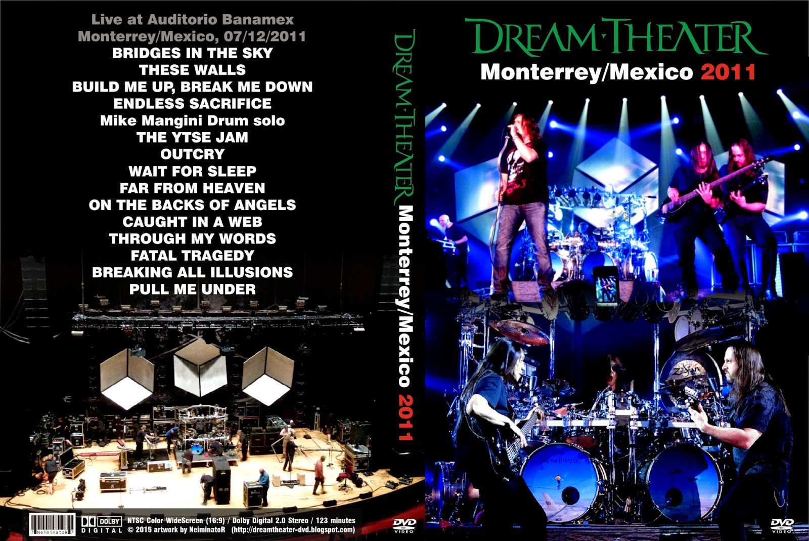 DREAM THEATER discography and reviews