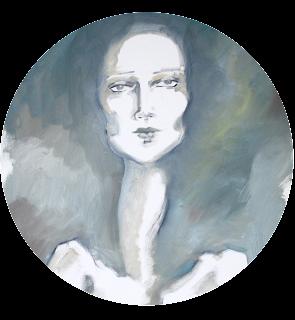 female fashion figure oil painting fine art illustration