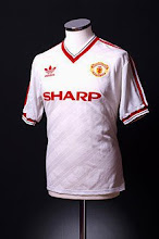 1986-88 Manchester United Away Shirt