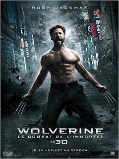 Affiche du film Wolverine, le combat de l'Immortel (2013)