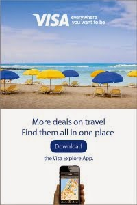 Mobile Explore App for VISA