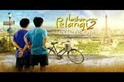 Poster Film Laskar Pelangi 2 Edensor