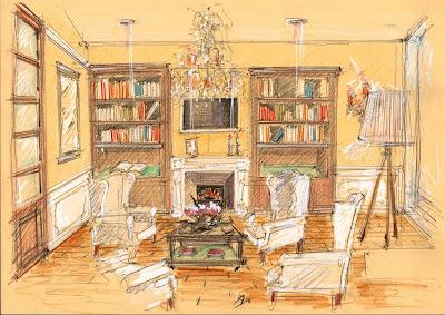 Vent'anni di disegni dell'Arch. Antonio Saporito: Il disegno e lo stile di rappresentazione