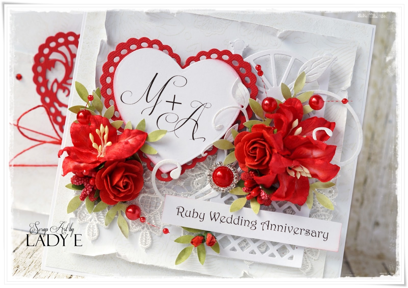 2 wedding anniversary cards - Wedding Anniversary Cards