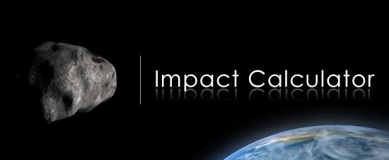 Calcolatore Impatto Meteorite
