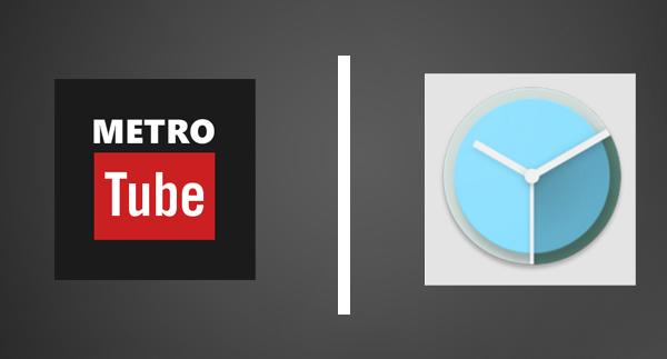 Metrotube and Clock O' Matic