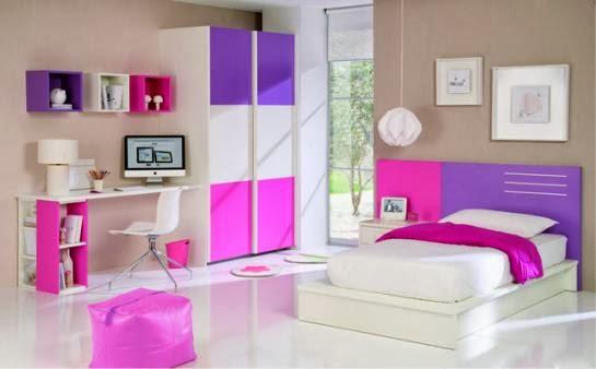 Dormitorio Karen ~ DORMITORIO JUVENIL DECORACIÓN DE DORMITORIOS CON COLORES NEÓN DORMITORIO INFANTIL