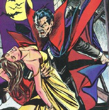 граф дракула, вампир, комикс дракула