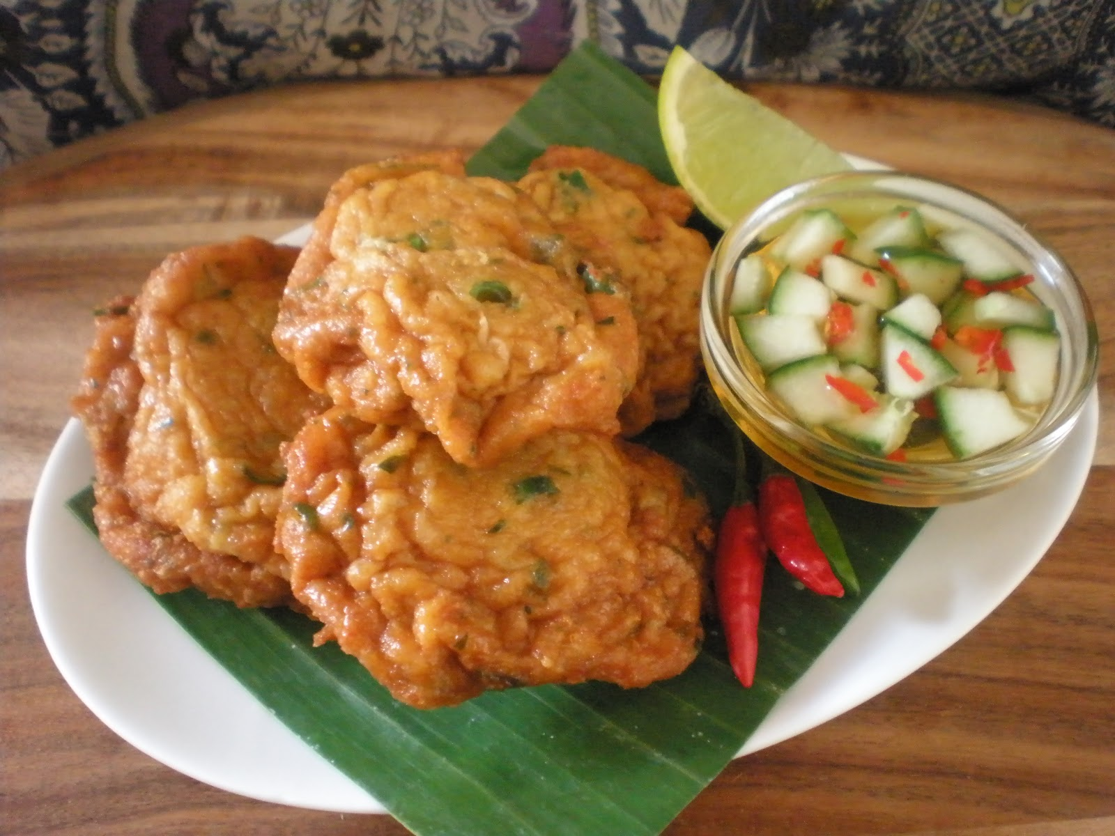 Thai Fish Cakes Make Ahead