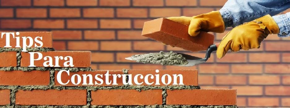 Tips para construccion