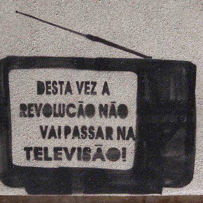 A revolução não será televisionada