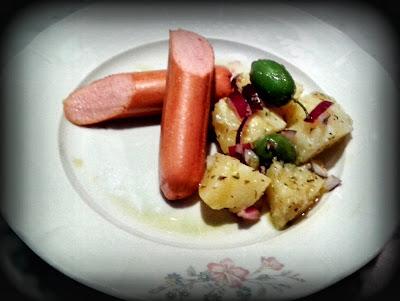 hot dog e patate