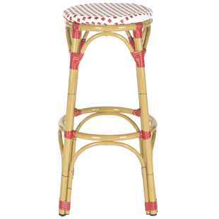 "Wayfair Safavieh Kipnuk 30"" Stool Red"
