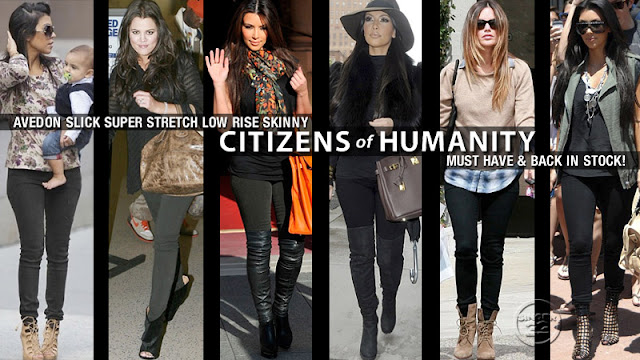 CITIZENS of HUMANITY Jeans當紅牛仔褲品牌 台灣哪裡買 購物教學