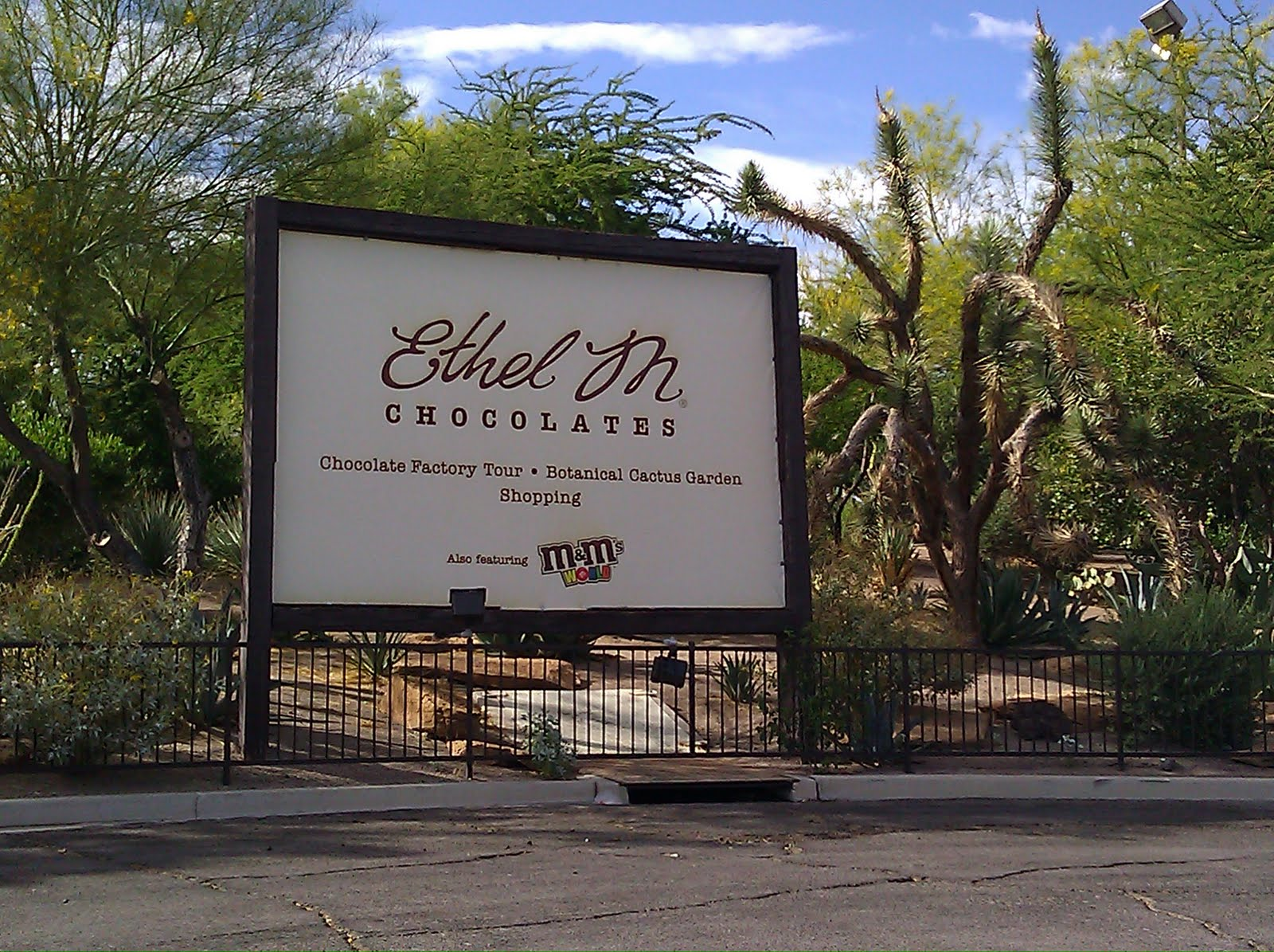 Sugar Lush: Ethel M® Chocolate Tour & Cactus Garden-Las Vegas,NV