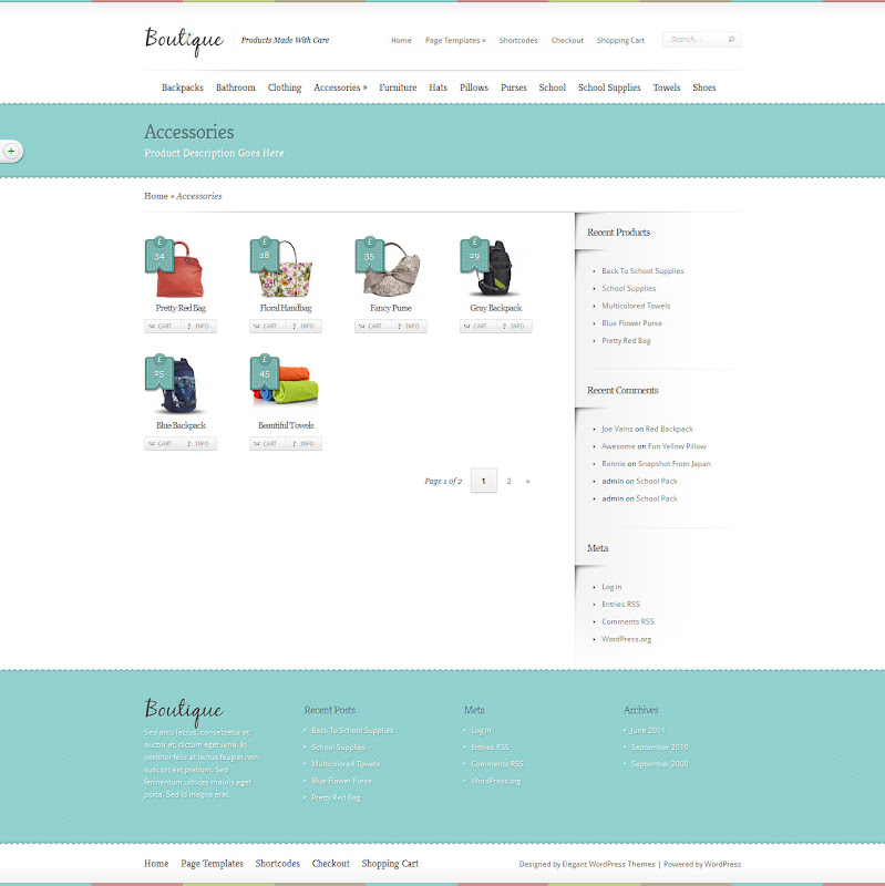 WordPress-Template-Ecommerce