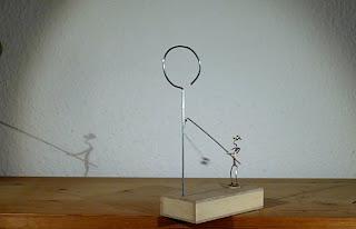 The Awkward Fisherman Machine | Flying pendulum escapement | by Turnvater Janosch