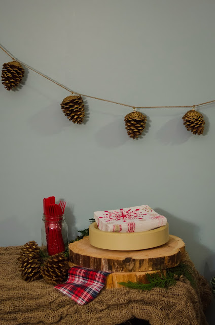 Cozy Christmas Party - lemonthistle.blogspot.com