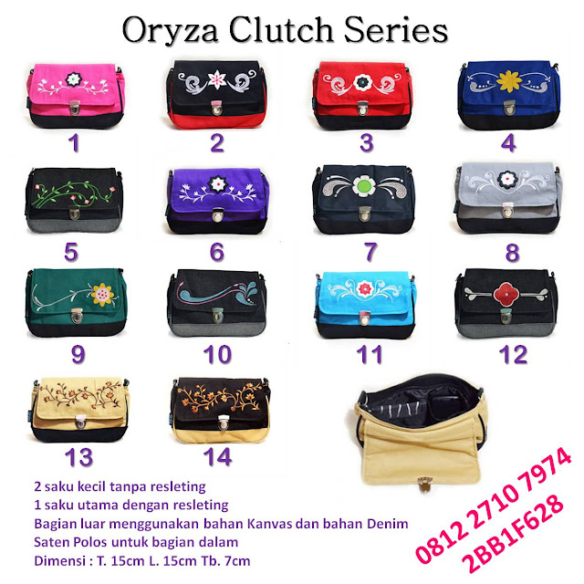 Grosir dan Ecer Oryza Clutch Series