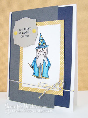 Wizard card using Magcial Dreams Set by Newton's Nook Designs
