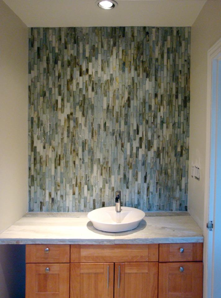 Luxury Zciiscom  Vertical Feature Tiles In Shower  Shower Design Ideas And