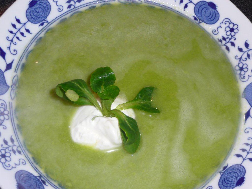 Dieta Zdrowych Kalorii Zupa Krem Z Zielonego Groszku