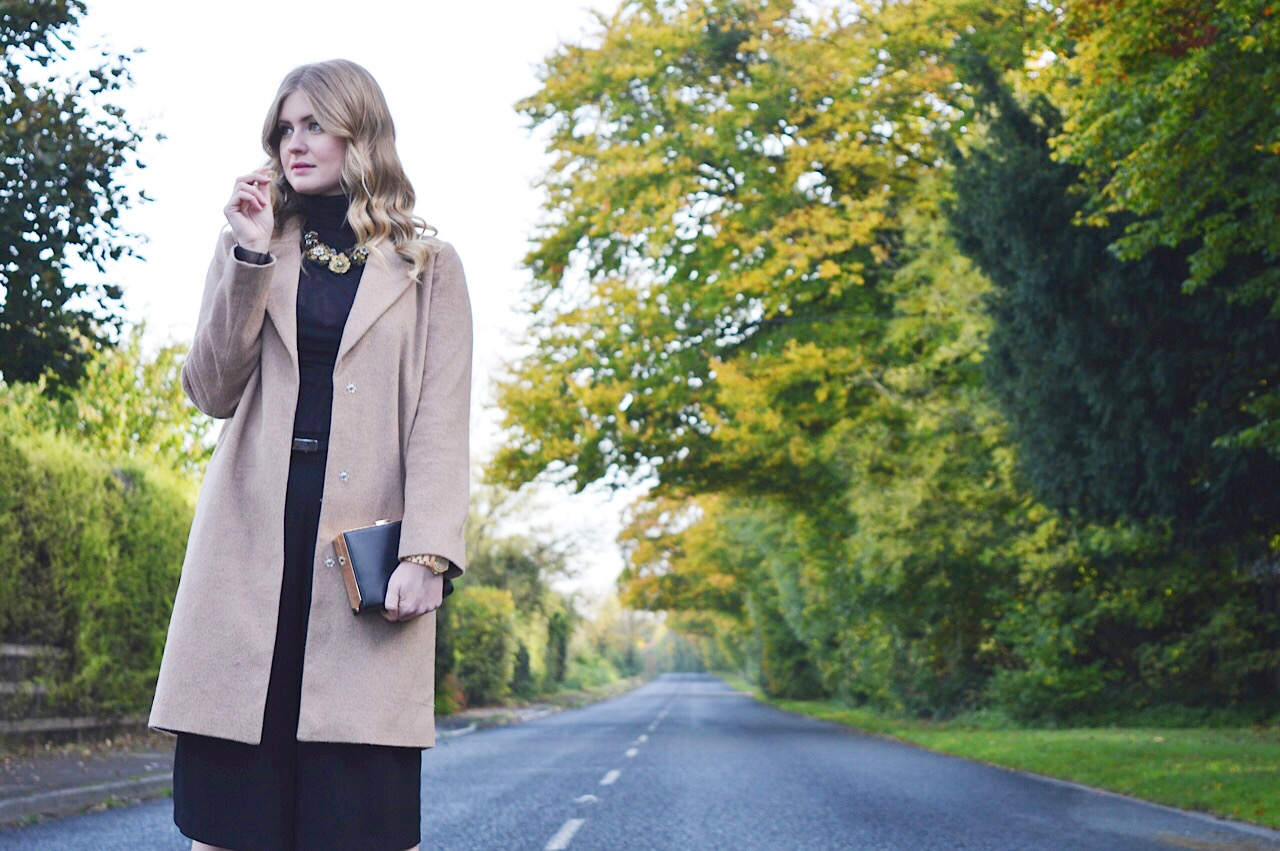 Camel coat style, FashionFake, fashion bloggers, Autumn style