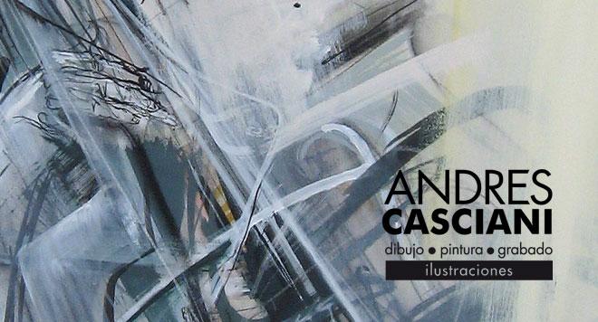 Andrés Casciani | Obra artística e ilustraciones