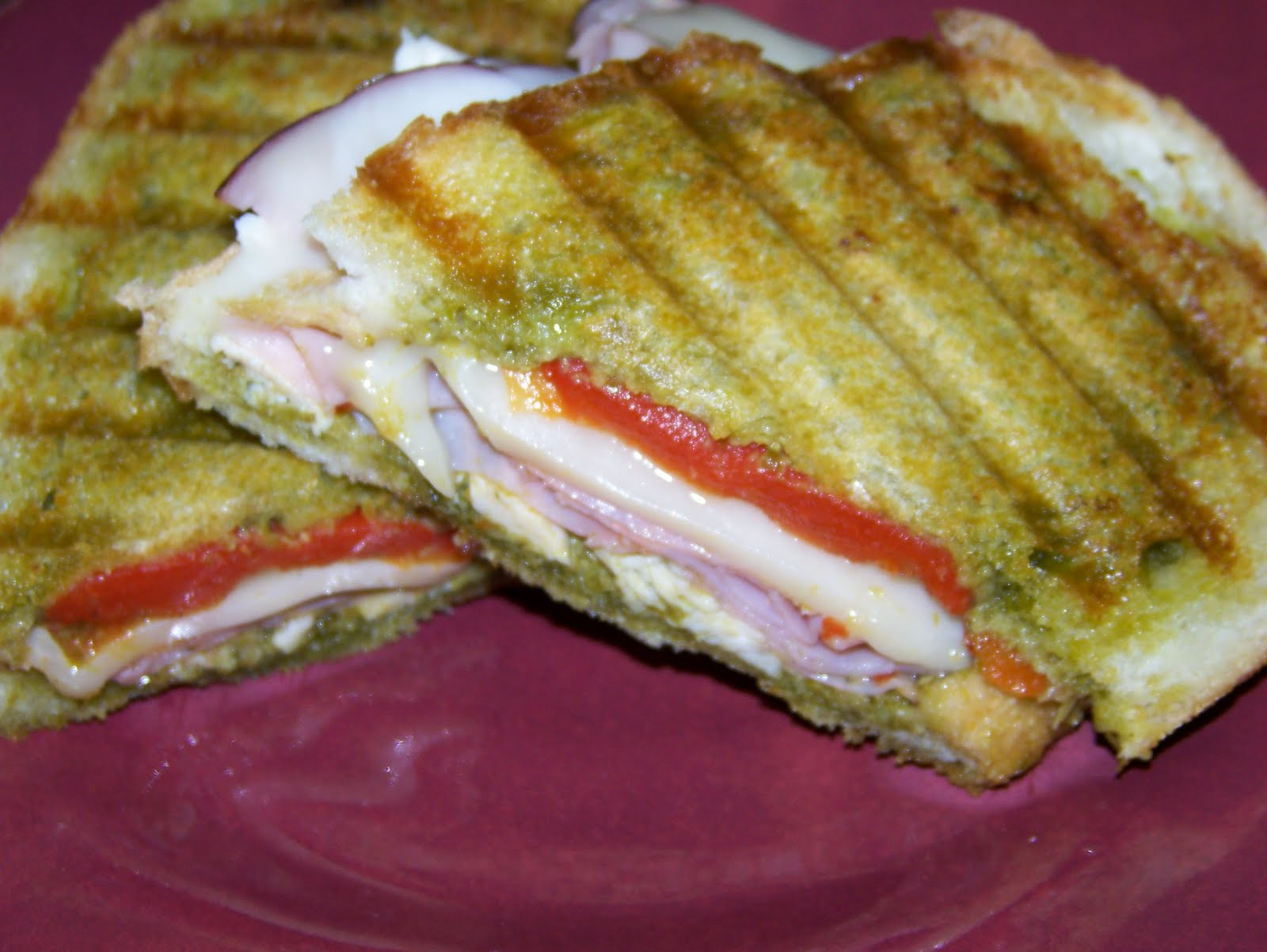 The Peppered Pantry: Italian Chicken Panini