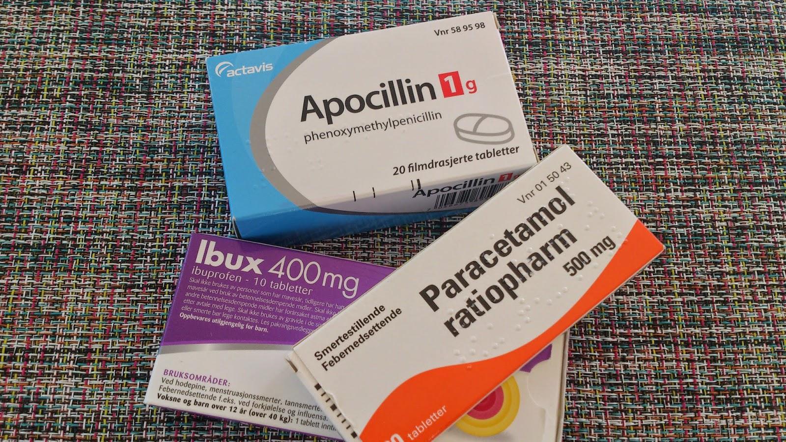 antibiotika mot betennelse