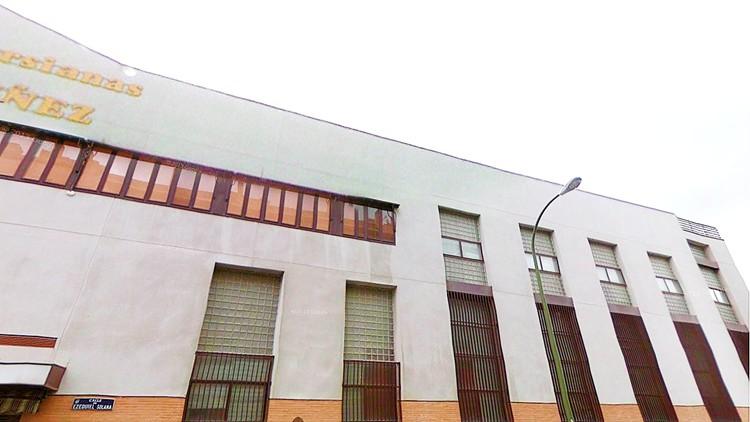 proyecto de edificio comercial en madrid fachada oeste persianas muñez