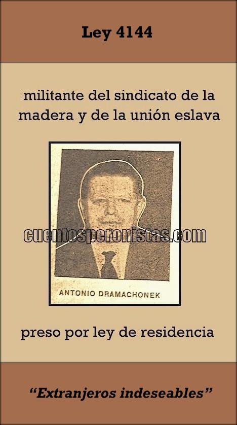 """Extranjeros """"indeseables"""" en la Argentina"""