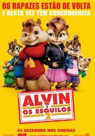 Alvin e os Esquilos: 2