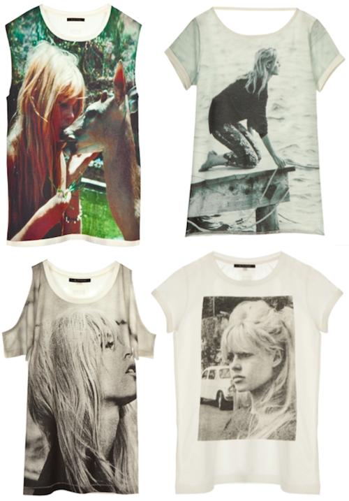 Brigitte Bardot T-Shirt Maje