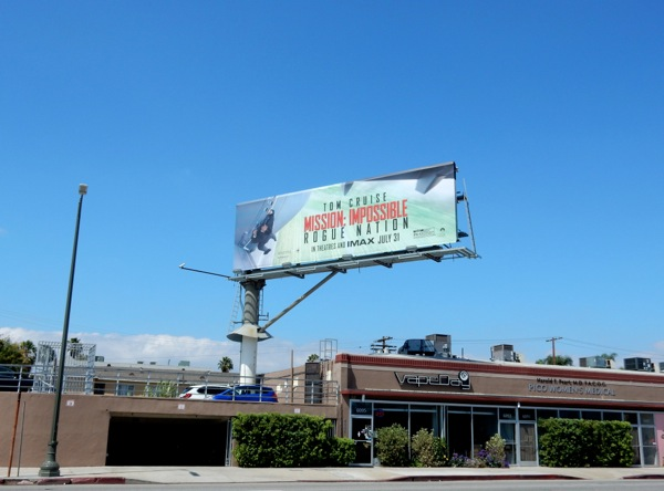Mission: Impossible Rogue Nation film billboard