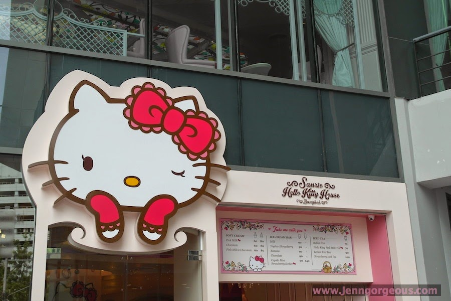 Where Is The Hello Kitty House Located hello kitty house bangkok- hello kitty cafe - jenngorgeous