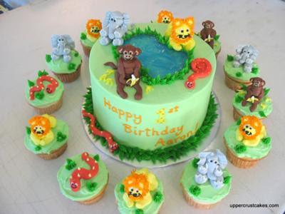 Lindos Modelos de Tortas con Cupcakes   Fiestas Infantiles Decoracionz