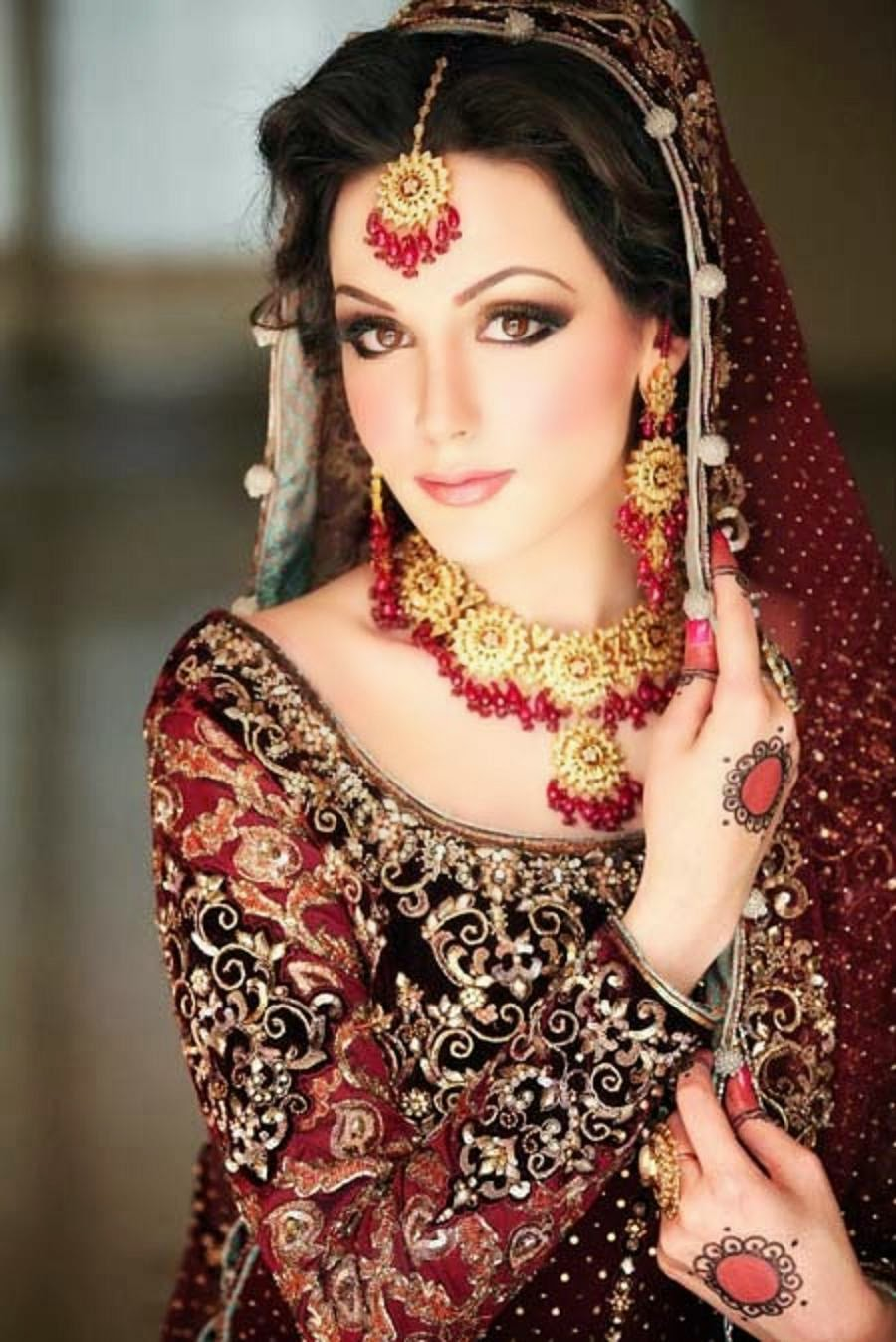 Indian Wedding Dulhan For Full Makeup - Mugeek Vidalondon