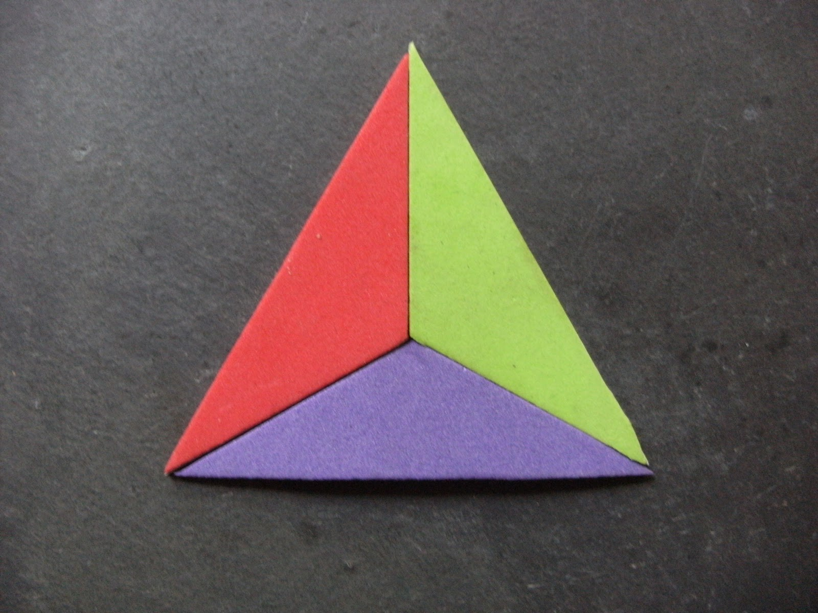 Acute triangle in real life