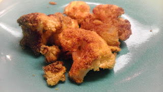 Delicious cinnamon roasted cauliflower