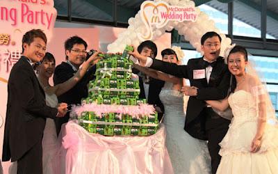 麥當勞 麥克婚禮