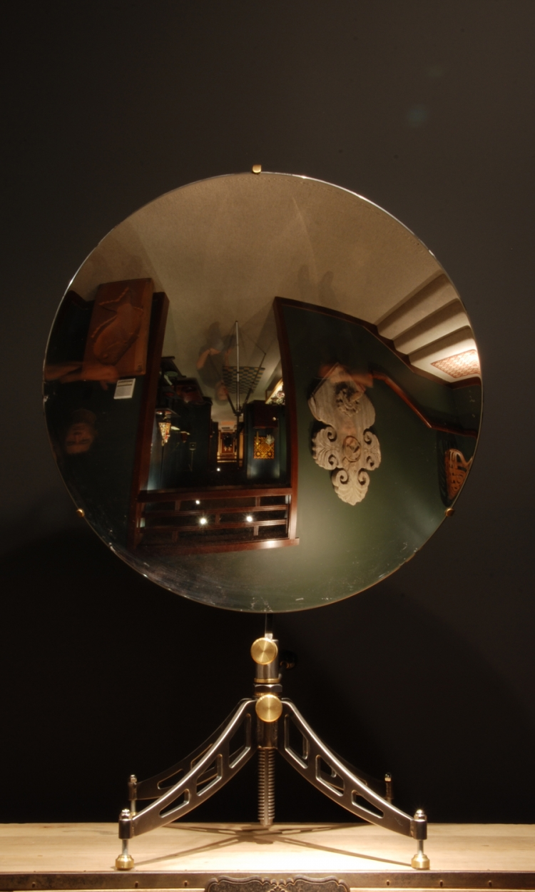 Physics at eleventh hour spherical mirrors for Uses of mirror
