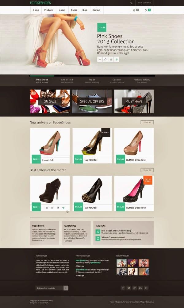 ecommerece Website Templates
